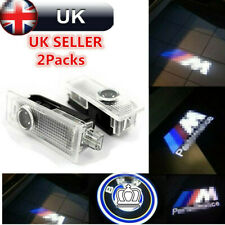 2/4CREE LED Car Door Light Projector Shadow For BMW Laser LOGO BMW M Performance