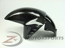 2006-2017 ZX14R ZX-14R Front Tire Fender Mud Guard Fairing 100% Carbon Fiber