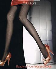 Collant donna a rete a maglia stretta autoreggenti calze donna intimo lingerie