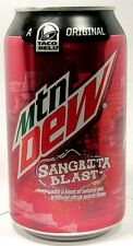 NEW FULL Pepsi Mountain Dew Taco Bell Sangrita Blast Citrus Punch USA 2015 LtdEd