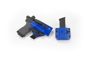 USED Raven Concealment Eidolon Holster Copia Magazine Blue for Glock 19 23 26 27