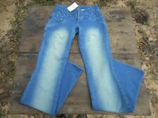 New Virgin Only Stretchy Womens Size L Large Juniors Inseam 33 Jeans