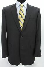 Jos A Bank Signature Gold 2 Btn Suit Charcoal Gray Wool 43 L x 39W