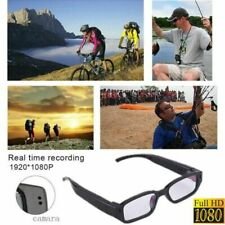 Sport 1080P HD Camera Glasses Spy Hidden Eyeglass DVR Video Recorder NVR Record