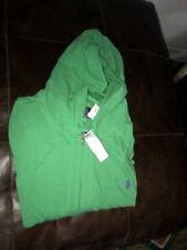 Ralph Lauren  Polo Green Thin Hoodie Jacket 4XB 4X Big