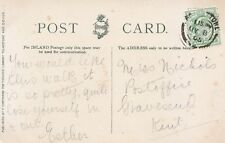 Family History Postcard - Nichols - Post Office - Gravesend - Kent - Ref 1652A