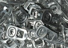 RED BULL STAMPED  ALUMINUM TABS - 50 TABS PULL TABS