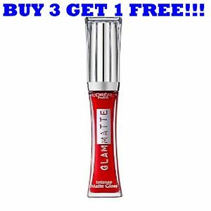 L'Oreal Glam Matte Lip Gloss 6ml Skinny Tangerine 511