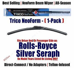 Qty 1 Premium NeoForm Wiper Blade fits 1999-2002 Rolls-Royce Silver Seraph 16220