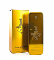 1 ONE MILLION  PACO RABANNE  Cologne for Men  3.4 FL OZ  EDT New in Box Sealed--