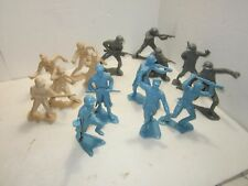 Vintage Lot of (15) Marx 6-Inch Russian Japanese German Soldiers Army Men
