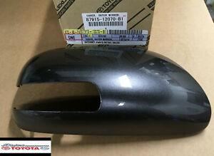 OEM TOYOTA  SCION XD OUTER MIRROR COVER FITS 2008-2014 GRAY PASSENGER SIDE