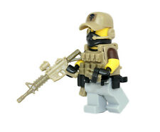 Private Military Contractor Operator PMC Minifigure made with real LEGO(R) parts
