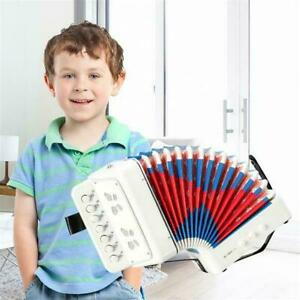 7-Key 2 Bass Kids Accordion Children's Musical Instrument Easy to Learn Music