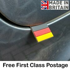 Mini German Flag Rubber Tag Badge For Audi VW BMW Mercedes Porsche Flag Germany