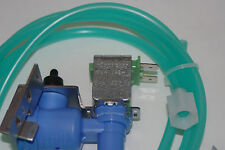 Frigidaire Refrigerator Single Solenoid Ice Maker Water Valve with water line