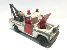 🛣 Vintage DINKY TOYS 109 WB LAND ROVER MOTORWAY RESCUE Breakdown Tow Truck #442