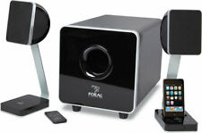 Focal XS 2.1 Multimedia Sound System - Powered Subwoofer and Speakers