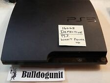 Defective 160GB Sony Playstation 3 System Only PS3 WONT POWER ON - WAS DROPPED