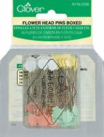 Clover Flower Head Pins Box
