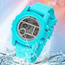 Kids Waterproof led Digital Watch Candy Rubber Band Fashion Watch For Boy Girl