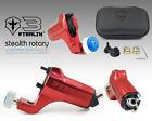 STEALTH 3.0 Aluminum Rotary Tattoo Machine Motor Liner Shader Cam Bearings RED