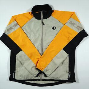 Pearl Izumi Jacket M Full Zip Windbreaker Vented Light Weight Multicolor