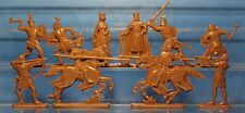 Collectible Plastic Toy Soldiers Publius Medieval Knight Tournament  set 54 mm