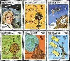 Nicaragua 2621-2626 (kompl.Ausg.) gestempelt 1985 Halleyscher Komet