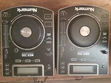NUMARK NDX200 Pair Performance- CD DJ  Table top Ready Players