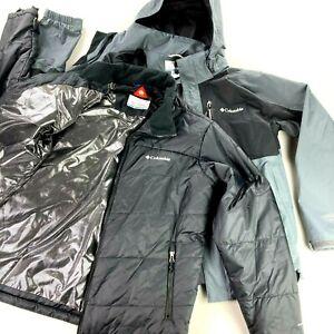 Columbia Men's 3-in-1 Interchange Ski Jacket + Insulated Puffer •LARGE