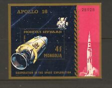 Mongolia 1972 SG MS 659 Space Cooperation MH