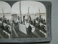 Vintage Antique STEREOVIEW CARDS STEREO VIEW Submarines, Battleships  MILITARY