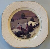 Illinois Ivesdale 1989 St Joseph's Catholic Church Collectible Plate Historical