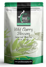 3 oz. Wild Cherry Blossom Loose Leaf Black Tea Includes Free Tea Infuser