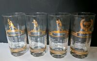 1950's All Time Greats Vintage Glasses College Basketball & Football, Wrestling