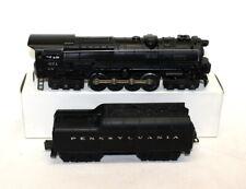 Postwar Lionel 671 Steam Turbine Locomotive & 2671W Whistle Tender (1949)~Nice!