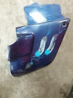 1984-1987 Honda Goldwing GL1200 right side fairing engine cover cowl panel Blue