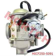 CF250 KunFu Carburetor Assy PD30 w/ Accelerator For Scooter Motorcycle Moped