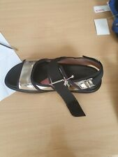 RIght on Trend  MARNI Silver  womens sandals S 39 worn twice