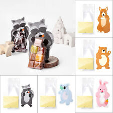Cute Animal Candy Bag Snacks Gift Dessert Baby Shower Birthday Party Wrap Favors