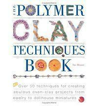NEW - The Polymer Clay Techniques Book by Heaser, Sue