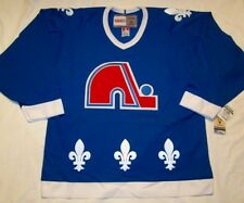 QUEBEC NORDIQUES - size Large - CCM 550 VINTAGE series Hockey Jersey - bnwt cdn