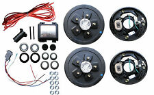 Add Brakes to Your Trailer Complete Kit 3500 Axle 5 x 4.5 Axel Electric