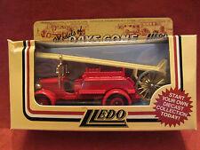 LLEDO  Days-Gone  1934 Dennis  Fire Engine  Red  #12010  Glasglow  NIB  (8,10)