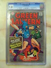 GREEN LANTERN ISSUE 45 JUNE 1966 GOLDEN AGE GREEN LANTERN CGC GRADED 7.0