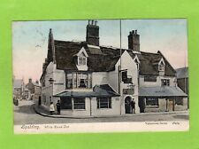 Spalding White Horse Inn pc used 1906 Valentines Ref E422