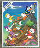 """1980 Vintage WHITMAN Walt Disney Donald Duck 100 Piece Puzzle 14"""" X 18"""" #4605-3"""