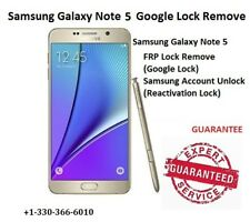 Samsung Note 5 /S6/S6Edge/S6EDGE Plus FRP Google Lock Remove