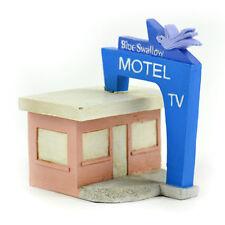 Miniature Dollhouse Fairy Garden - Blue Swallow Motel - Accessories